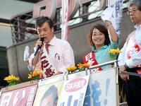 2009総選挙こくた街頭演説