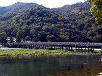 京都紅葉渡月橋20091015
