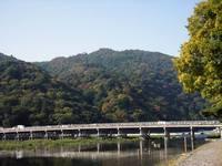 京都紅葉渡月橋20091028