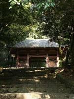 京都紅葉勝持寺仁王門20091104
