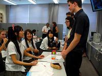 反核平和で日米高校生交流