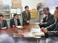 牧野理事長/原田府議
