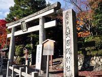 京都大原野神社の紅葉