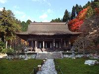 京都勝林院の紅葉