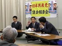 上高野支部で府市政報告会