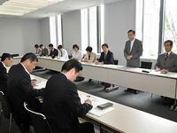 関電本社へ交渉