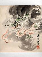 「龍年の京菓子」展