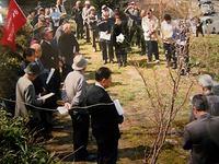倉岡愛穂墓前祭