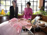 難病の京極春香さん結婚式