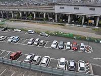 「市民交流プラザ」の建設予定地(高架下から駐車場含む)