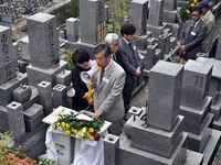 谷善墓前祭