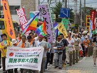 網の目平和行進