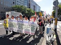 7・16京建労パレード