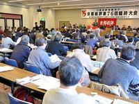 京都総評臨時大会