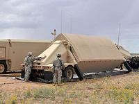 配備計画されているXバンドレーダー(AN/TPY2)=米ミサイル防衛庁ホームページから