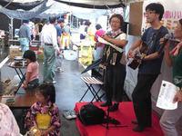 東日本震災支援バザー