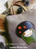 Leather Works Tara ―バッグと小物 秋の新作フェア―