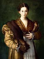 ナポリ・宮廷と美─カポディモンテ美術館展より『貴婦人の肖像〈アンテア〉』