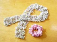 ゆび編みであったかカワイイ小物作り