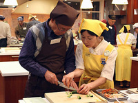 「お料理はじめての会」男性クラス1日体験教室