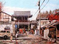 藤本忠彦が描く源氏物語ゆかりの地 in Kyoto展