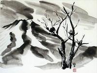 池田桂子展~書と絵画~わたしの好きな何げない四季の風景