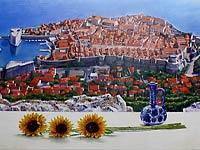 矢野信司個展「夏のドブロヴニクを描く」