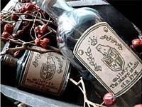 消しゴムはんこ特別レッスン Eraser stamp and wine label.