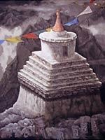 鶴田和敏展~チベットの風