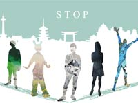 """京都造形芸術大学油画コースグループ展""""STOP"""""""