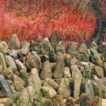 たくまたえこ 油絵展 -私と小石の羅漢さん-