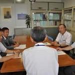 福島へのシャトルバス運転継続を 共産党京都府議団が要請