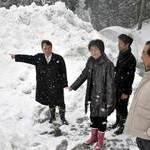 「大雪で生活できない」 共産党府議団が大雪被害調査