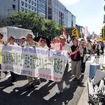 「さよなら原発10万人集会」に連帯 京建労が学習会とパレード