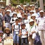 楽しかった竹生島クルーズ 共産党・京田辺市大住後援会