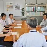 府南部大雨被害者の支援・復旧を 日本共産党府委・府議団が申し入れ