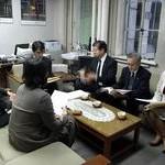 共産党京都市議団が予算要求書提出 消費税増税反対、京プラン撤回を