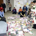 被災者に毛糸の小物贈ろうプロジェクト 城陽母連