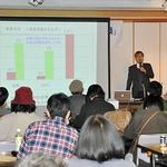 市民参加で再生エネ普及 「非核の会」市民講座で和田氏講演
