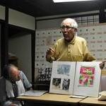 「新美」会員が座談会 反核・平和小品展