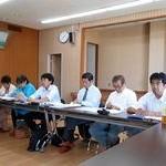 台風被害での改修要望が次々と 京田辺市議団が懇談会