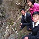 鴨川上流の産廃が流出 共産党倉林議員ら視察