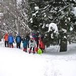 雪の比良・金糞峠から北比良峠へ