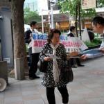 戦争法案「反対の声上げよう」 京都弁護士会が街頭宣伝