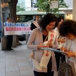 """戦争法案「民主主義なくなる」「これでは""""アベラー""""だ」 京都弁護士会宣伝に反響"""