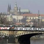 丹後に連帯・米軍基地NO(1)チェコ ミサイル防衛施設の建設阻止