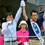 選挙区で猛追「改憲狙う自民党候補に必ず打ち勝つ」 大河原候補こん身の訴え