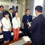 収蔵作品を破壊する前代未聞の暴挙 京都市美術館敷地内の寄贈モニュメント、移設作業を強行 共産党市議団が声明