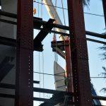 京都市美術館・野外彫刻の切断工事を強行 作者の同意なく 市民団体ら連日抗議行動