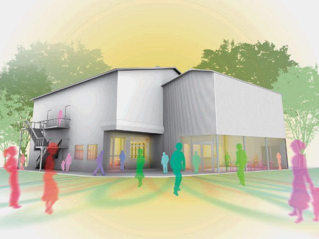 京都に100年続く小劇場を シアターE9/南区東九条に演劇拠点、稽古場等施設も 2019年春の完成目指す